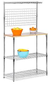 Cheap Bakers Rack Amazon Com Honey Can Do Shf 01608 Bakers Rack With Kitchen