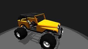 cj jeep yellow simpleplanes jeep cj lifted