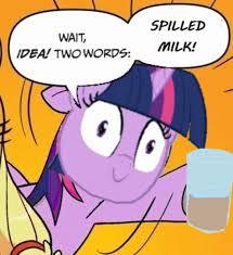 Chocolate Milk Meme - twilight sparkle s chocolate milk know your meme