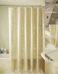 Gold Satin Curtains Curtains Excellent Gold Shower Curtain For Home Gold Shower