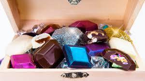 edible jewels edible chocolate jewels gems truffles covered in edible glitter