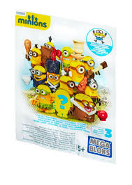 Lego Blind Packs Despicable Me Minions Blind Pack Series V Sunburned Minion With