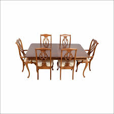 Birch Round Dining Table Dining Room Amazing Target Dining Set 8