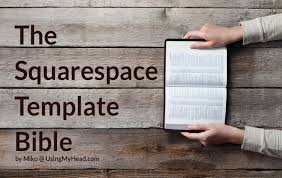 Coat Check Template The Squarespace Template Bible Using My Head