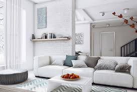 White And Gray Living Room | 15 modern white and gray living room ideas home design lover