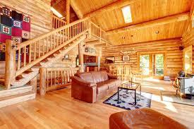 log cabin living room decor log cabin living room with fireplace images loversiq