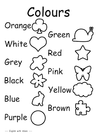 esl colors worksheets pdf color of 88821f96e0a3