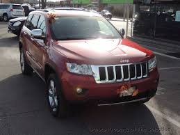 overland jeep 2011 used jeep grand cherokee overland awd w panoramic roof