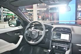 jaguar jeep inside all new jaguar f pace suv debuts in india at the 2016 auto expo