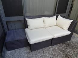 Recover Patio Chairs by Outdoor Suite Refresh U0026 Easy Envelope Cushion Tutorial There Was