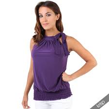 halter neck halter neck draped ruched top blouse flattering bow tie summer