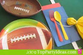 football favors football party favor penalty flag top party ideas