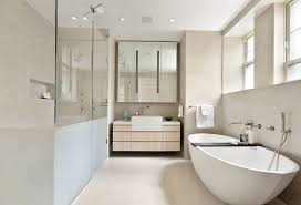 solid surface farmhouse sink modern master bathroom with designer white solid surface countertop