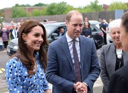 prince william and kate middleton at stewards academy for heads