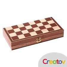 amazon com classic wooden chess set board u2013 folding boards with