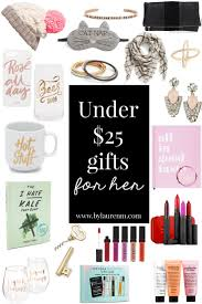 under 25 gifts for her by lauren m
