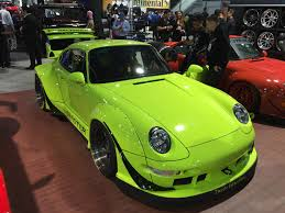 rauh welt porsche green rwb porsches take over sema autoguide com news