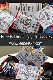 free father u0027s day printables teepee