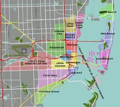 Map Of South Beach Miami by File Miami Map Svg Wikimedia Commons