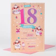 18th birthday card pug princess only 99p