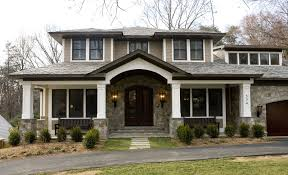 Craftsman Style Bungalow My Favorite Home Style Bungalow Craftsman I Love The Stone Entry
