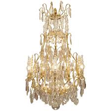 fleur de lis chandelier french 18th century louis xv period ormolu and crystal chandelier