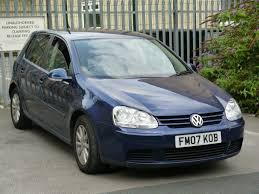 volkswagen golf blue 2007 volkswagen golf 1 9 tdi match diesel hatchback 5door blue 12