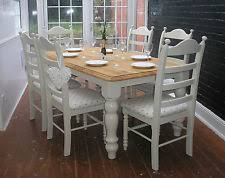 Shabby Chic Table And Chairs EBay - Shabby chic dining room furniture