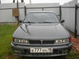продажа Mitsubishi Galant 1991 года в сарапуле велюровый салон
