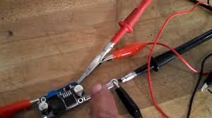 12 volt transformer for led lights new 24 volt l e d lights using a 12 volt step up converter youtube