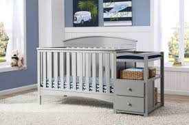 Changing Table Crib Combo Baby Cribs With Changing Table Getexploreapp