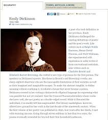 emily dickinson biography death the life works and death of emily dickinson custom paper writing service