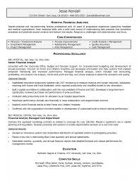 Example Of Core Competencies In Resume Budgeting Analyst Resume