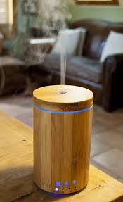 Essential Oil Amazon Amazon Com Real Bamboo Wood Ultrasonic Aromatherapy Essential Oil