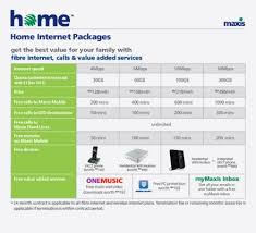 home internet plans maxis home internet 30mbps at rm398 month