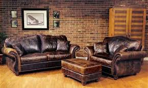 Remarkable Traditional Leather Sofa Set Furnitureliving Room Color - Leather chairs and sofas