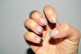 mr kate glitter tipped nails