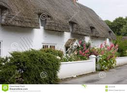 english country cottage avebury england royalty free stock
