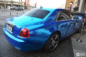 rolls royce blue rolls royce ghost v specification 13 november 2016 autogespot