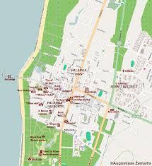 Map Of Lithuania Vilnius Tourist Map Vilnius City Tour Sightseeing Tours Map