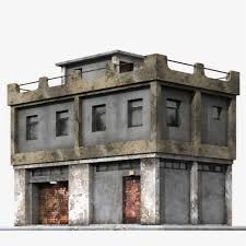game ready building collection this royalty free 3d model or