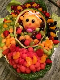 fruit platter baby shower julie the cruise director