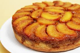 peach upside down cake with cognac caramel recipe food u0026 style