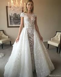 zuhair murad bridal discount 2017 zuhair murad overskirt wedding dresses sleeves