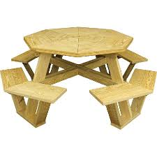 mendon woodcraft octagon picnic table mckays furniture