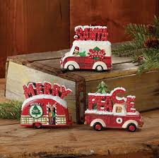 raz camper and car christmas ornaments set of 3 christmas