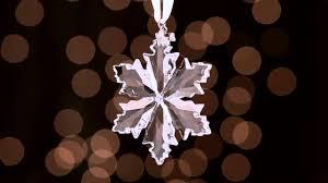 swarovski 2014 snowflake ornament youtube