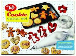 tala christmas cookie cutter set of 10 gingerbread man u0026 woman