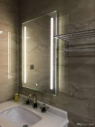 Lighted Bathroom Wall Mirror by Diyhd Wall Mount Led Backlit Lighted Bathroom Mirror Vanity
