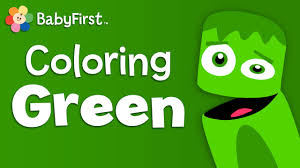 leaves grass and frogs green learn the colors color crew